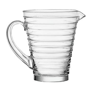 Iittala Aino Aalto glass pitcher 1.2L, clear