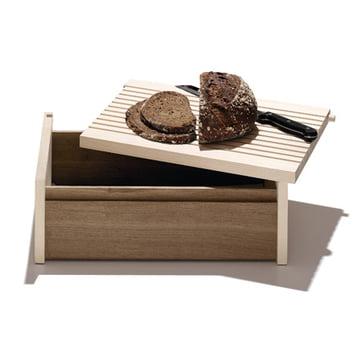 side by side bread box