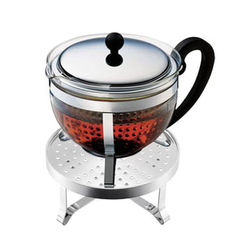 Bodum - Chambord Set with Teapot and Warmer