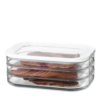 Rosti Mepal - Modula refrigerator container, cold cuts 550/3 - white