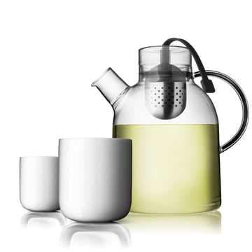 Norm Kettle with Cups