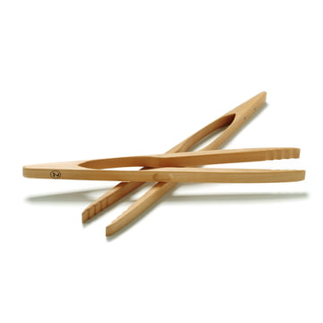 Oz Goods - Barbecue and Kitchen tongs Greta, 46 cm, beech wood