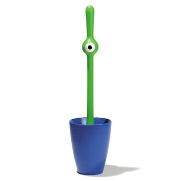 Koziol - Toq toilet brush, green / blue