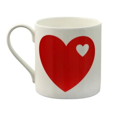 byGraziela - Hearts Mug in red