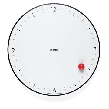 The Timesphere Wall Clock from the MoMA Collection