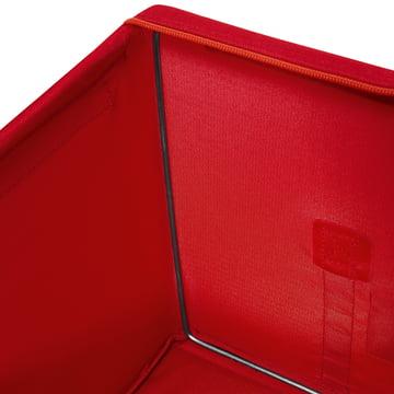 reisenthel - Storagebox, red - details image, edge inside