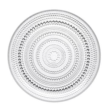 Iittala - Kastehelmi Plate 26cm, clear