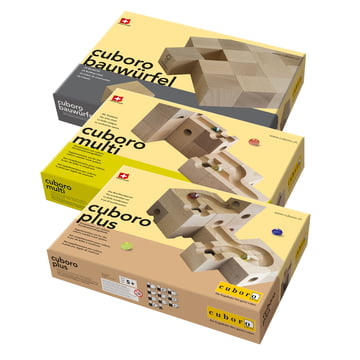 cuboro - marble run supplementary sets - packaging