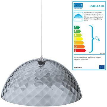 Stella Xl Pendant Lamp Koziol Shop