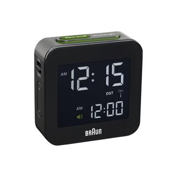 Braun - Digital radio-controlled alarm clock BNC008, black