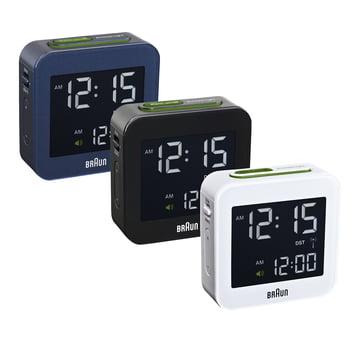 Braun - Digital radio-controlled alarm clock BNC008 - group