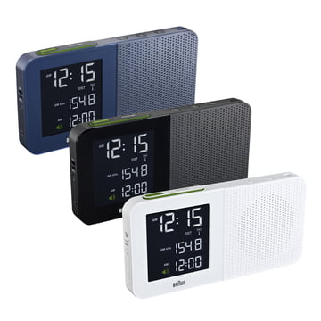 Braun - Digital Radio Alarm Clock BNC010 - group