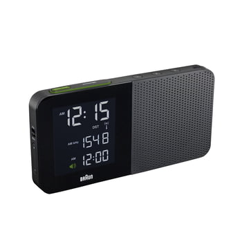Braun - Digital Radio Alarm Clock BNC010, black