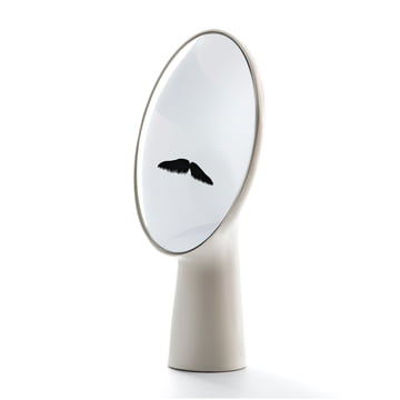 Moustache - Cyclope mirror, white