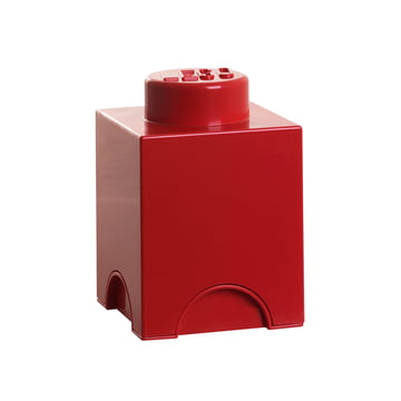 Lego - Storage Brick 1, red