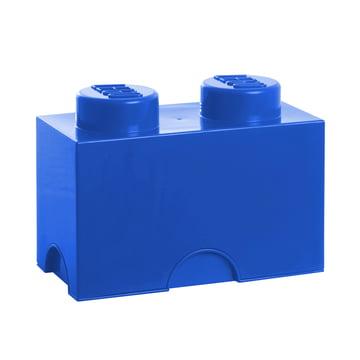 Lego - Storage Brick 2, blue
