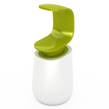 Joseph Joseph - C-pump soap-dispenser, white/ green