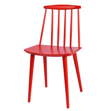 Hay - J77 Chair, red