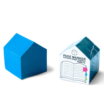 Suck UK - House Page Markers, blue - packed