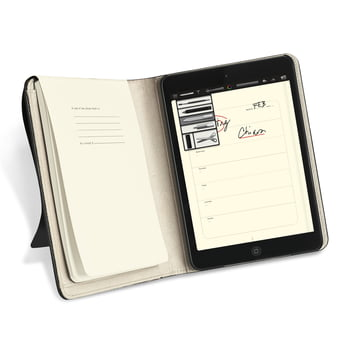 Moleskine - iPad mini Cover - open