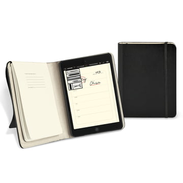 Moleskine - iPad mini Cover - open and closed