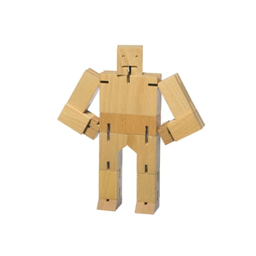 Areaware - Cubebot, small, beech