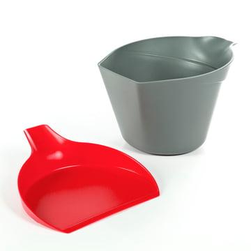 Royal VKB - Chop Organizer, red - lid next to it