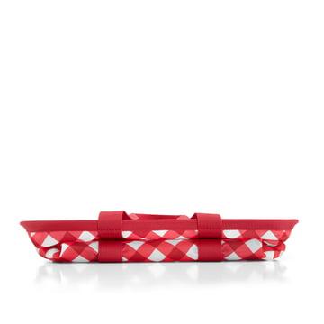 reisenthel - mini maxi basket, square red - folded