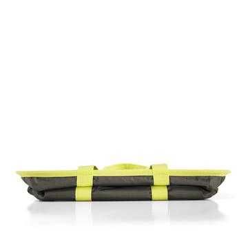 reisenthel - mini maxi basket, dark olive - folded