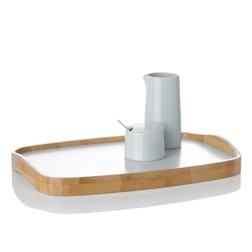 Stelton - Emma Tray, Sugar Bowl, Milk Jug