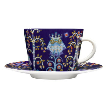 Iittala - Taika - blue - coffee cup with saucer