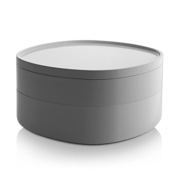 Alessi - Birillo Bathroom Container PL17, white