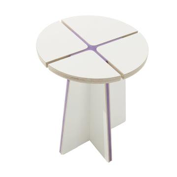 Müller Möbelwerkstätten - StoolX, purple
