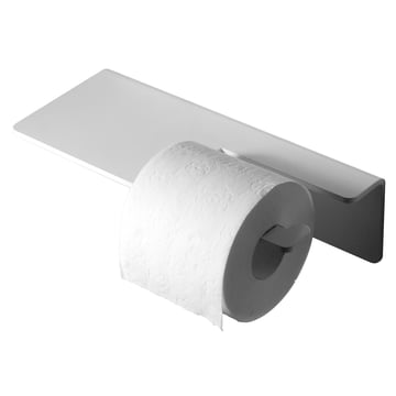 Puro Toilet Paper Holder by Radius Design in White