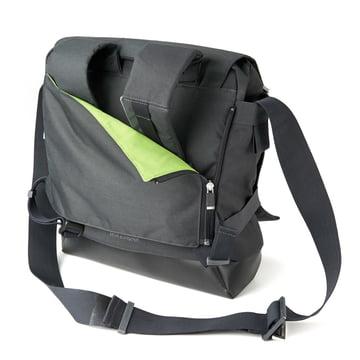 Moleskine - myCloud Rucksack, backside, hidden shoulder straps