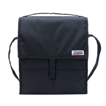 PackIt - Coll bag, black - front side