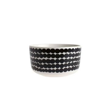 Oiva Räsymatto bowl 500 ml by Marimekko in white / black