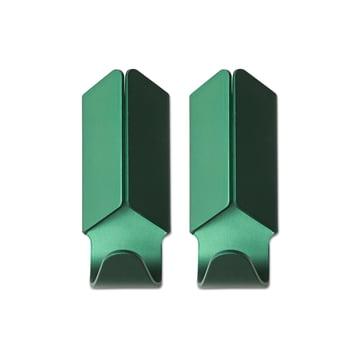 Hay - Volet Hook Set of 2, green