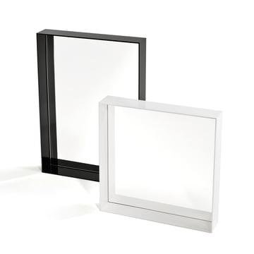 Kartell - Only Me Mirror, black 70 x 50 cm, white 50 x 50 cm