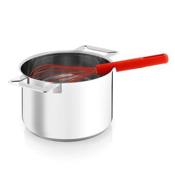 Eva Solo - Gravity Whisk red in pot