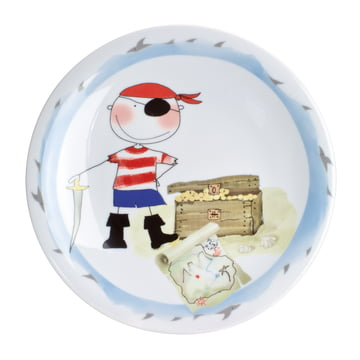 Kahla - Magic Grip Kids Set, 3 pcs, Treasure-trove Pirate, plate