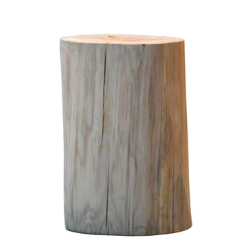 Jan Kurtz - Block Stool round H 46 cm, oak