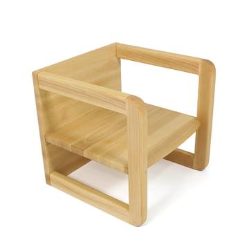 Jan Kurtz - Children's Table / Armchair Hugo, natural beech