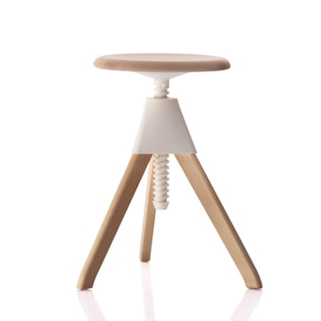 Magis - Jerry The Wild Bunch Stool (50-60cm), white