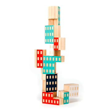 Areaware - Blockitecture, wooden architecture toy