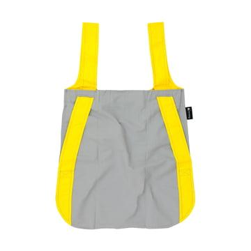 Notabag - bag and rucksack, yellow/grey