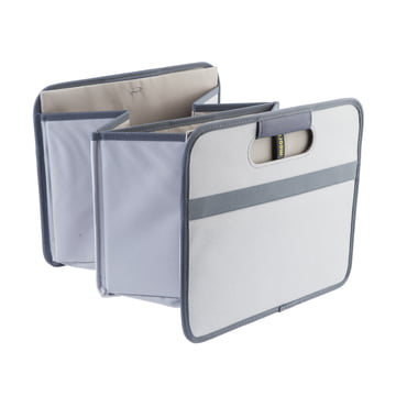 meori - CLASSIC Foldable Box 30 Liter, Stone Grey solid