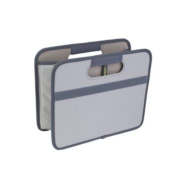 meori - Classic  Folding Box 15 litres, Stone grey plain