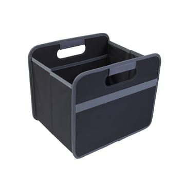 meori - Classic Folding Box 15 litres, Lava black plain