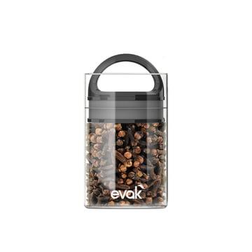 Prepara - Evak Storage Container 9.5 cm Mini, black